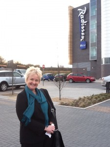 Ruth at the Radisson Blu